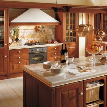 cucina-scavolini-baltimora-legno-di-ciliegio-arredamenti ...