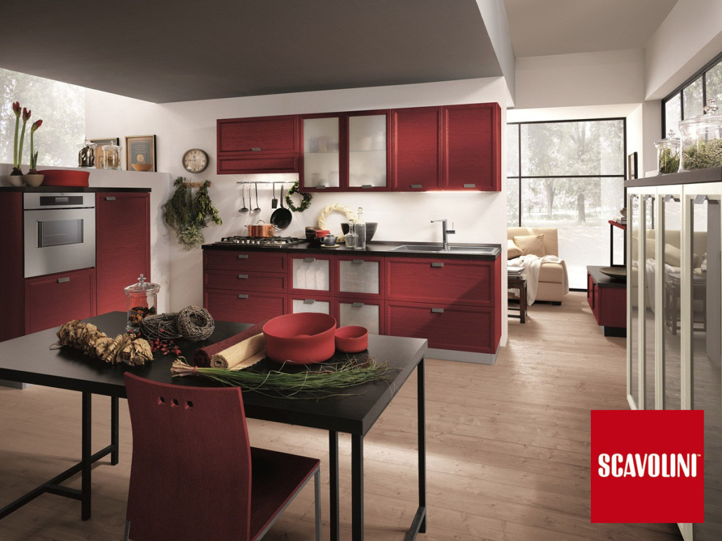 Cucina Scavolini Bianca E Grigia : Cucina a gas industriale ...