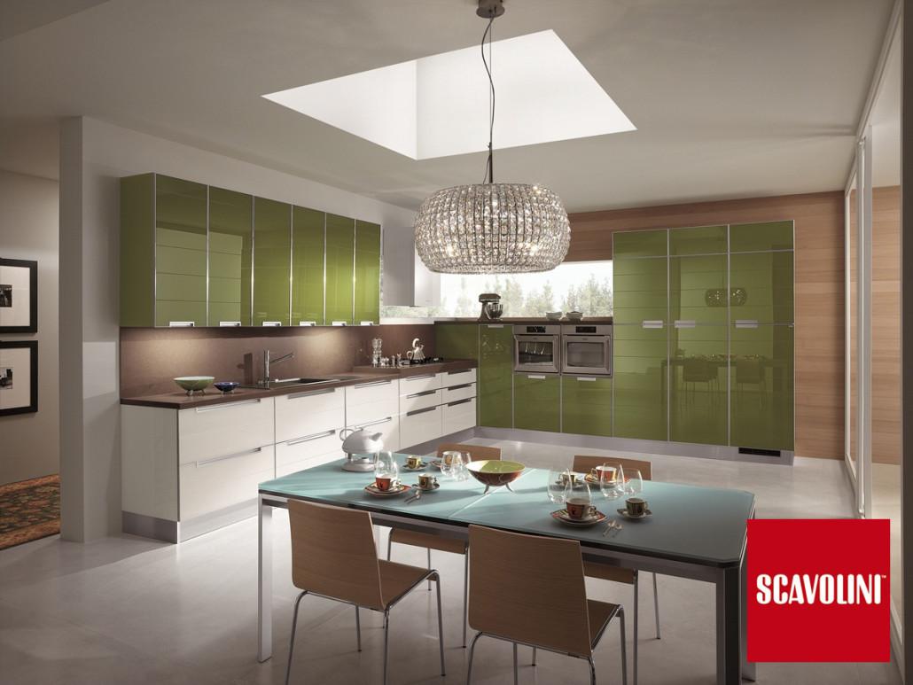 Cucina Scavolini Crystal - Arredamenti Casarini - Modena