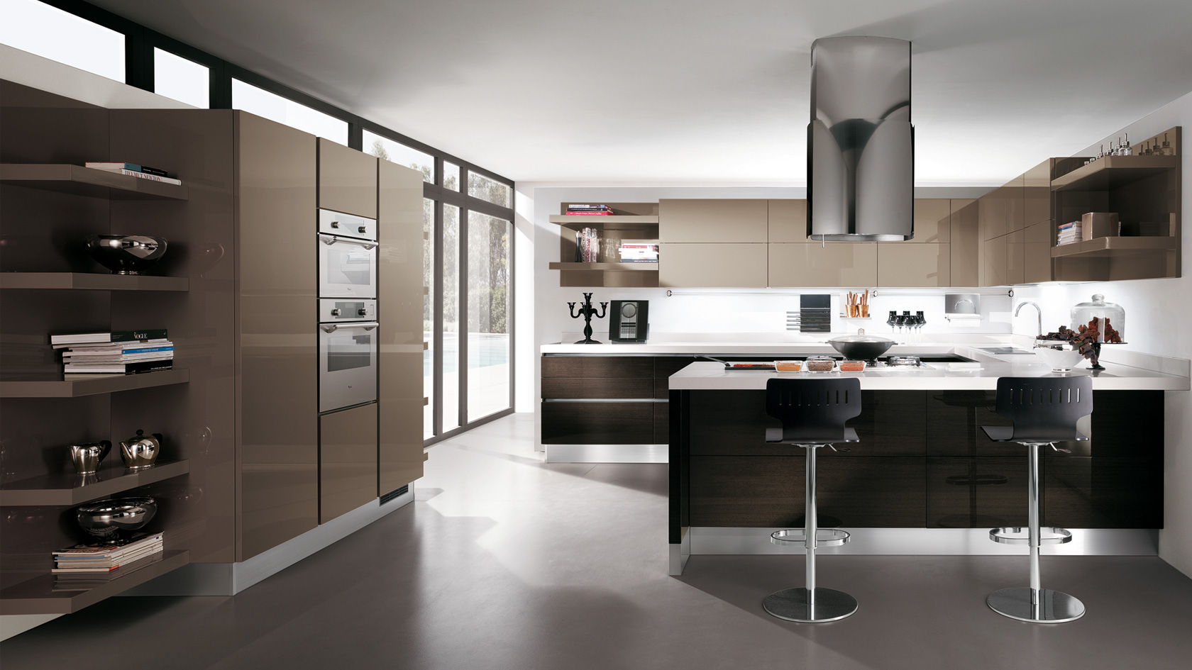 Cucina Con Isola Centrale Scavolini | Chefs4Passion