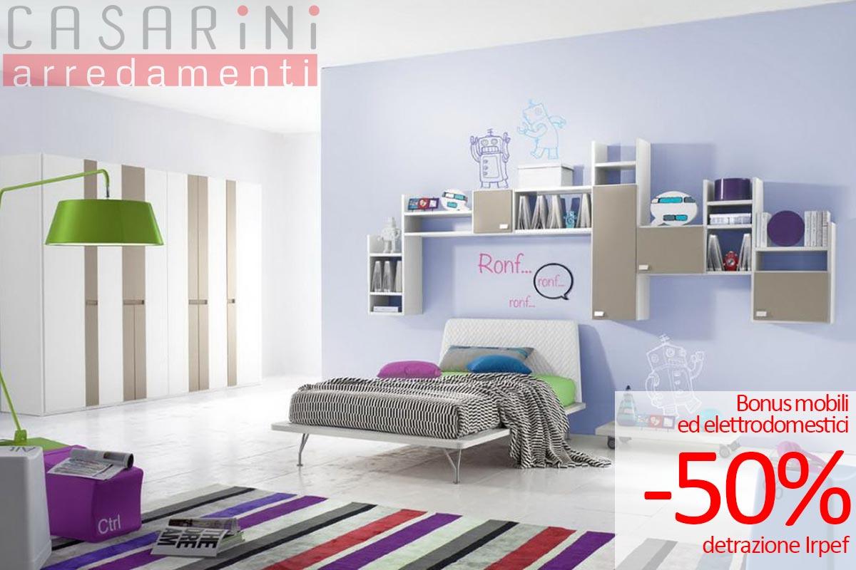 Bonus mobili ed elettrodomestici arredamenti casarini for Detrazione acquisto mobili