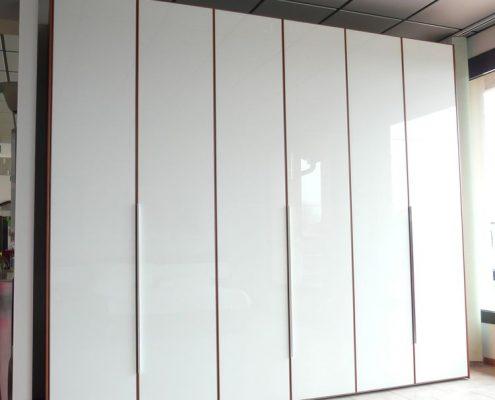 Offerta speciale camera matrimoniale con armadio 6 ante in vetro ...