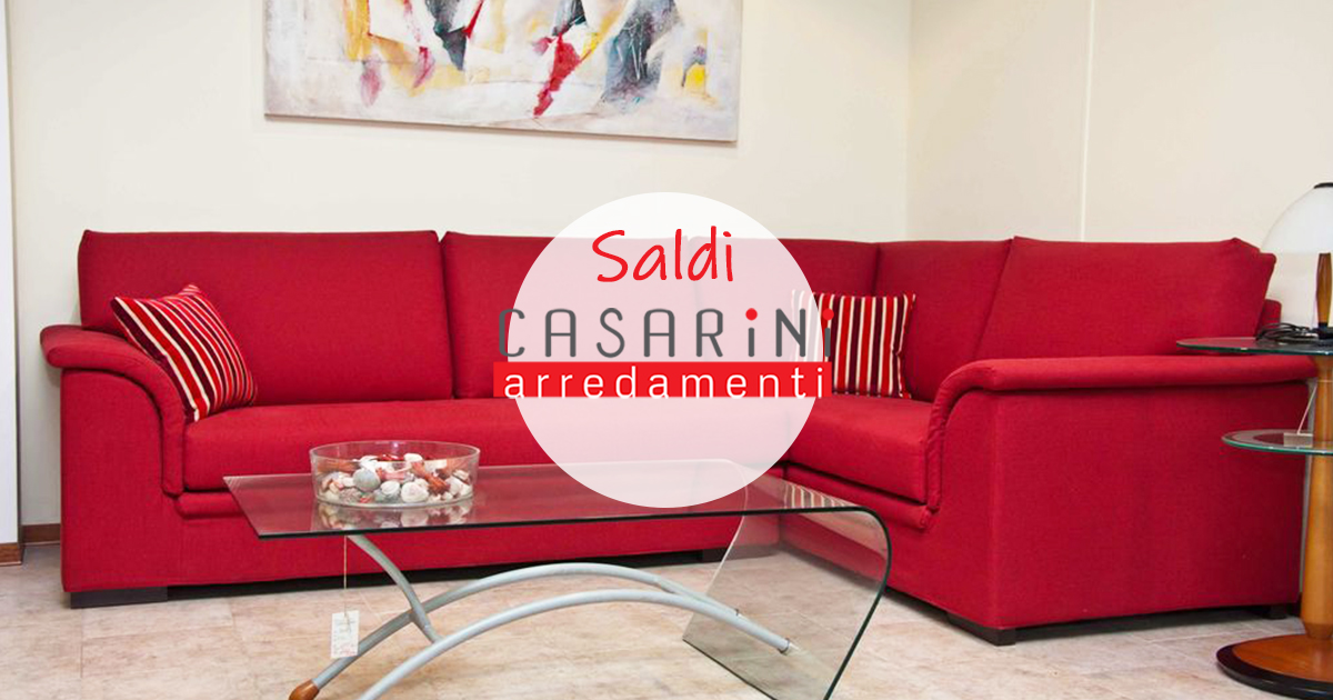 Arredamento occasioni speciali fino al 60 casarini for Occasioni design